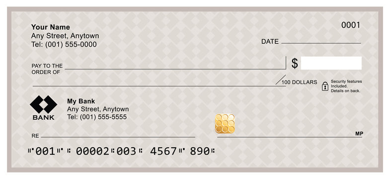 Blank Check Template photos, royalty-free images, graphics  Intended For Cashiers Check Template