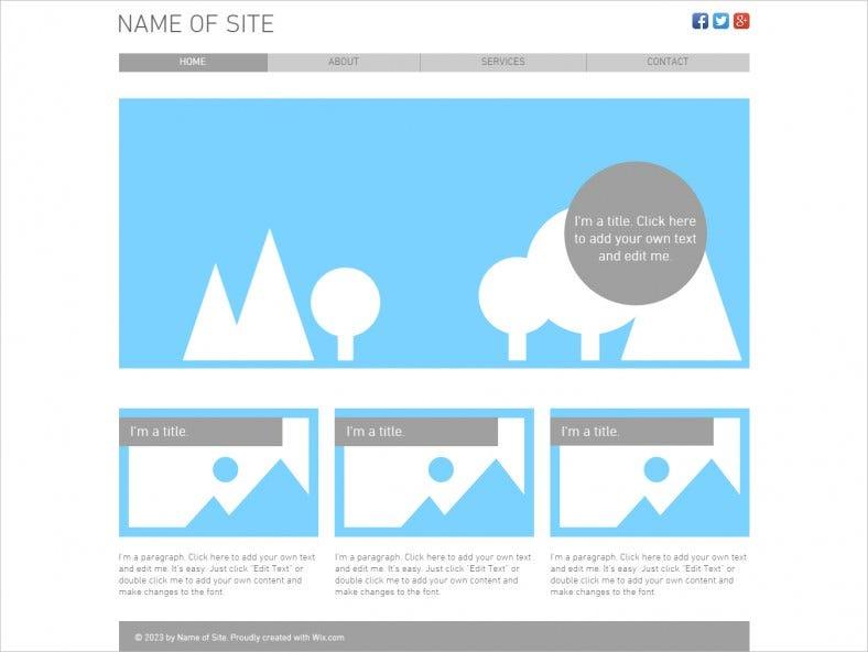 Blank HTML11 Website Templates & Themes  Free & Premium  Free  Inside Blank Html Templates Free Download Throughout Blank Html Templates Free Download