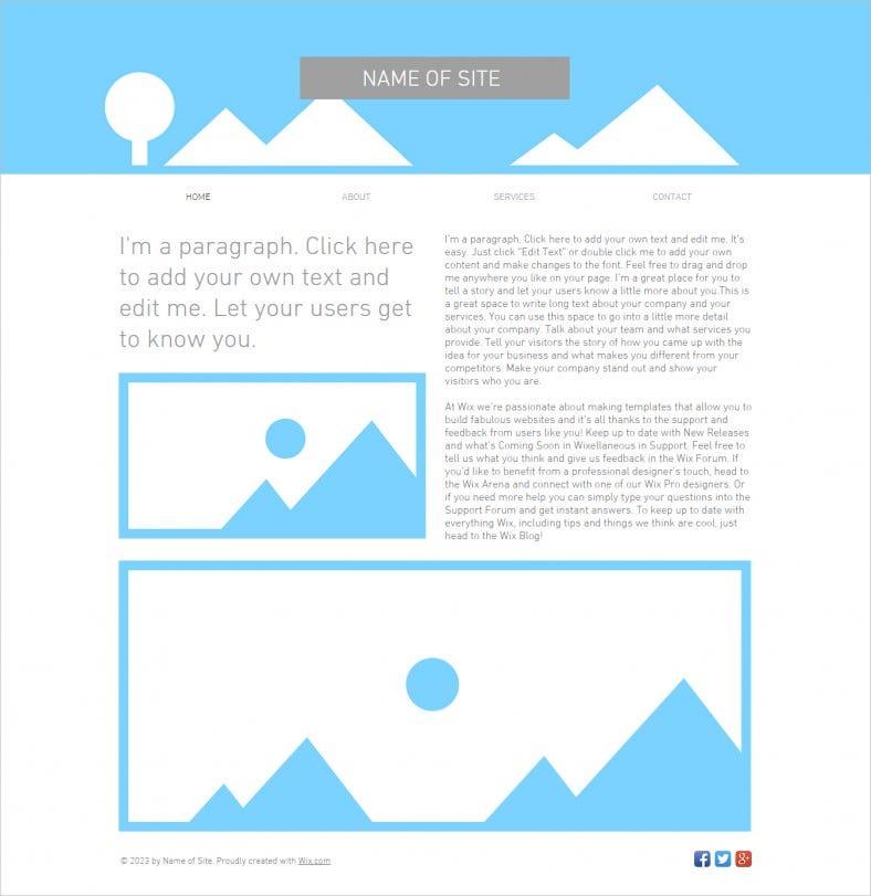 Blank HTML11 Website Templates & Themes  Free & Premium  Free  Within Blank Html Templates Free Download Inside Blank Html Templates Free Download