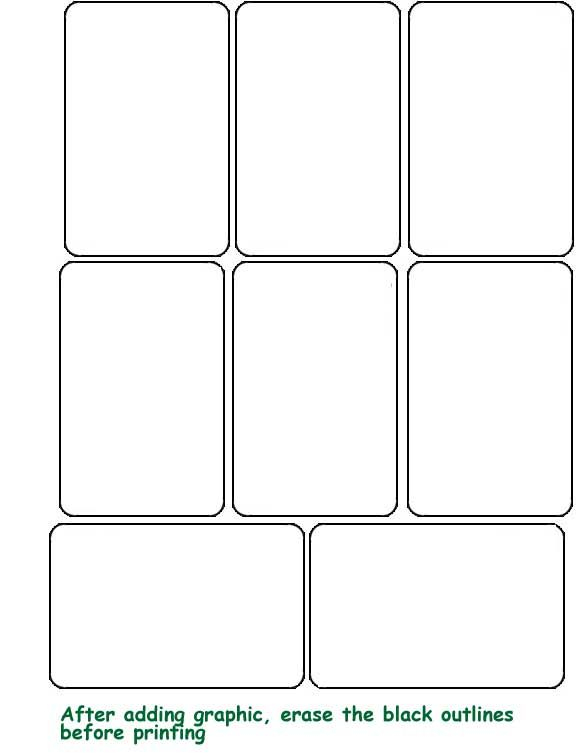 blank playing cards  Printable playing cards, Blank playing cards  With Free Printable Playing Cards Template For Free Printable Playing Cards Template