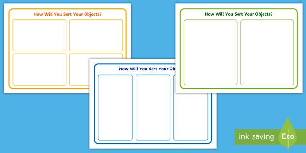 👉 Blank Sorting Diagram Templates (teacher made) Intended For Words Their Way Blank Sort Template Within Words Their Way Blank Sort Template