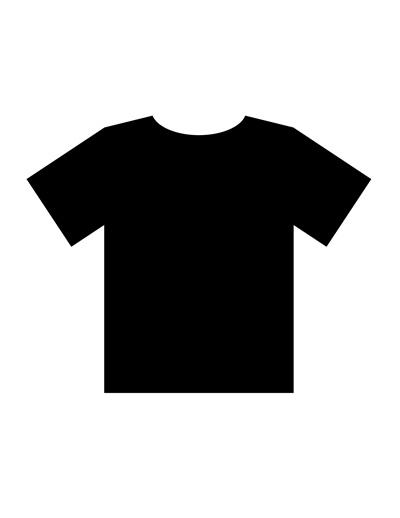 Blank T Shirt Templates  PDF For Blank Tshirt Template Pdf Pertaining To Blank Tshirt Template Pdf
