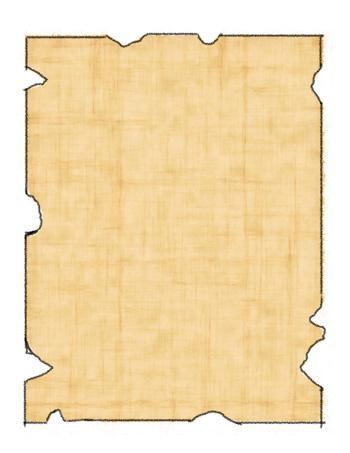 Blank Treasure Map #11 - Tim
