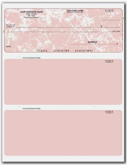 Blue and White Check Word Template (Page 11) - Line.111QQ Pertaining To Blank Business Check Template Word