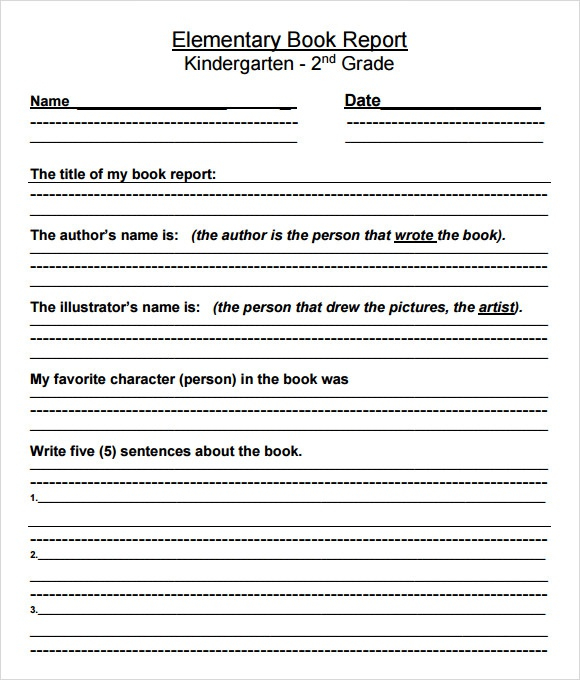 Book Report Template Grade 1111 (Page 11) - Line.111QQ.com In Book Report Template 2nd Grade