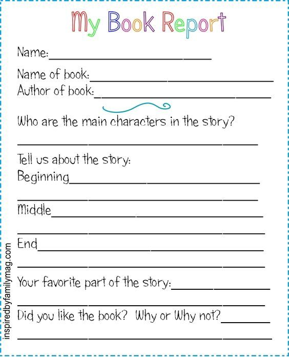 Book report writers With Regard To Book Report Template 2nd Grade Regarding Book Report Template 2nd Grade