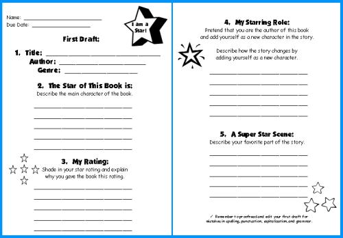 Book reports - Write My Custom Paper Regarding Book Report Template 4th Grade