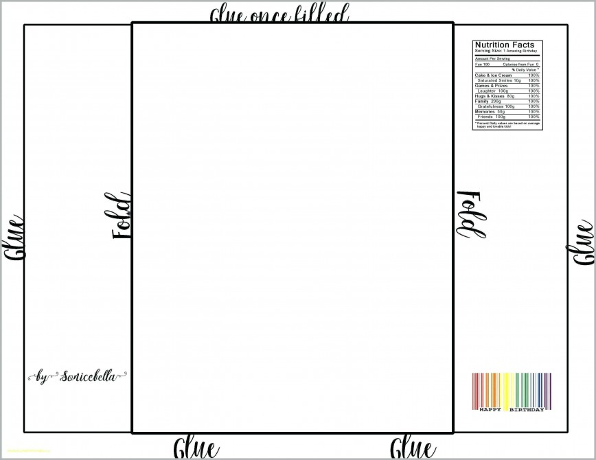 Candy Bar Wrapper Template For Word Free ~ Addictionary In Free Blank Candy Bar Wrapper Template Pertaining To Free Blank Candy Bar Wrapper Template
