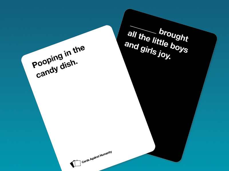 Cards Against Humanity Template by Jon Berry on Dribbble Within Cards Against Humanity Template Intended For Cards Against Humanity Template
