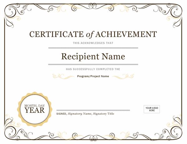 Certificates - Office Regarding Promotion Certificate Template