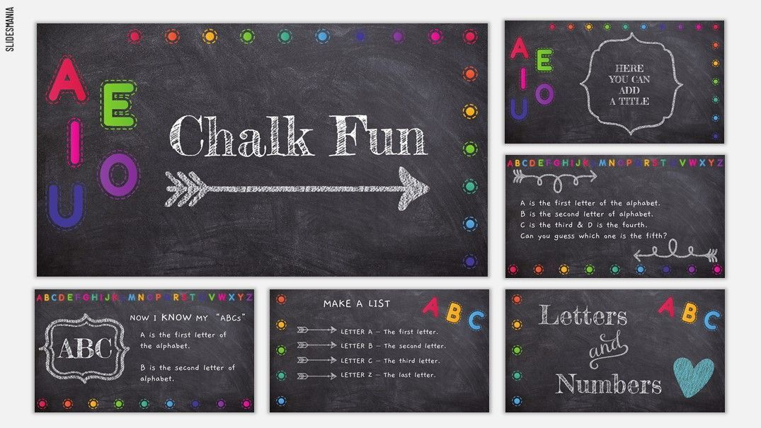 Chalk Fun Free Template for Google Slides or PowerPoint Throughout Fun Powerpoint Templates Free Download Regarding Fun Powerpoint Templates Free Download