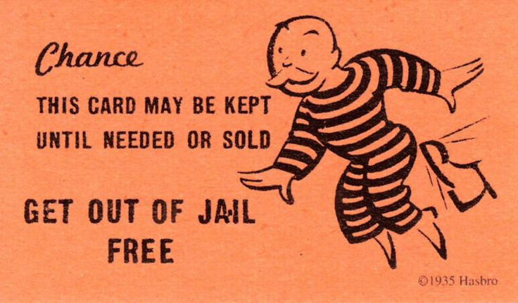 chance get out of jail free card template - Clip Art Library For Get Out Of Jail Free Card Template Throughout Get Out Of Jail Free Card Template