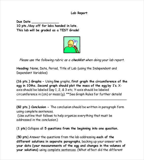 Chemistry Lab Report Template  Free Report Templates With Lab Report Template Chemistry Intended For Lab Report Template Chemistry