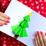 Christmas Tree Pop up Card - Easy Peasy and Fun With Pop Up Tree Card Template