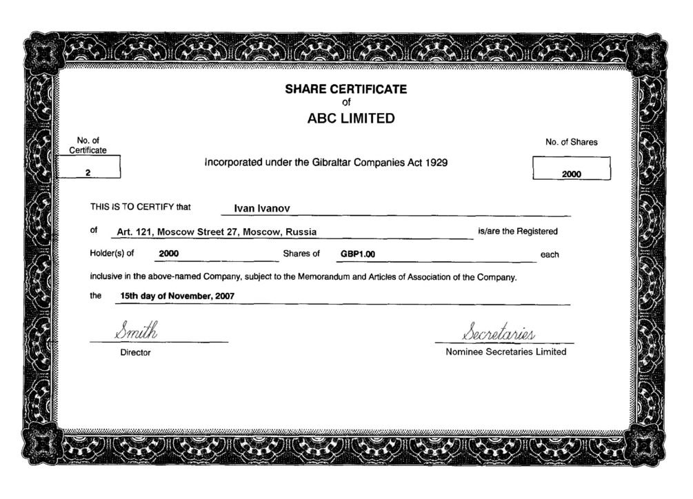 Companies House Application To Register A Company - Blog.lif.co Within Share Certificate Template Companies House