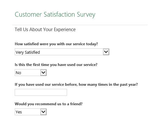 Customer satisfaction survey In Customer Satisfaction Report Template Inside Customer Satisfaction Report Template