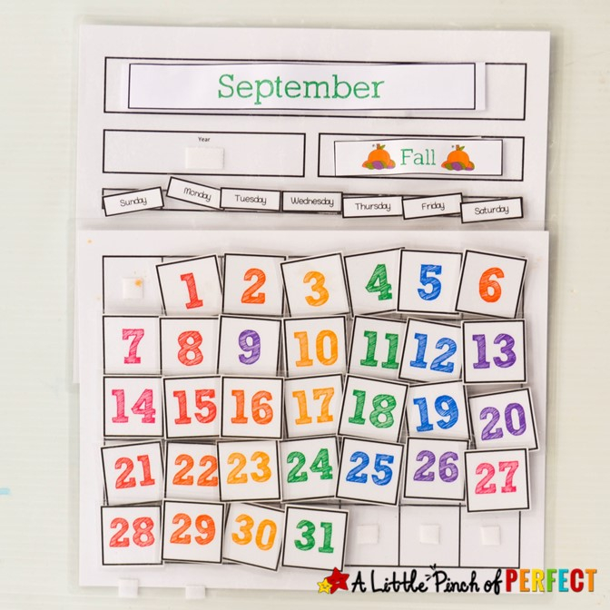 Cute Free Printable Calendar for Home of School with Kids - With Regard To Blank Calendar Template For Kids Pertaining To Blank Calendar Template For Kids