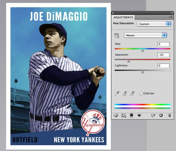 Design a Vintage Baseball Card in Photoshop Throughout Baseball Card Template Psd With Baseball Card Template Psd