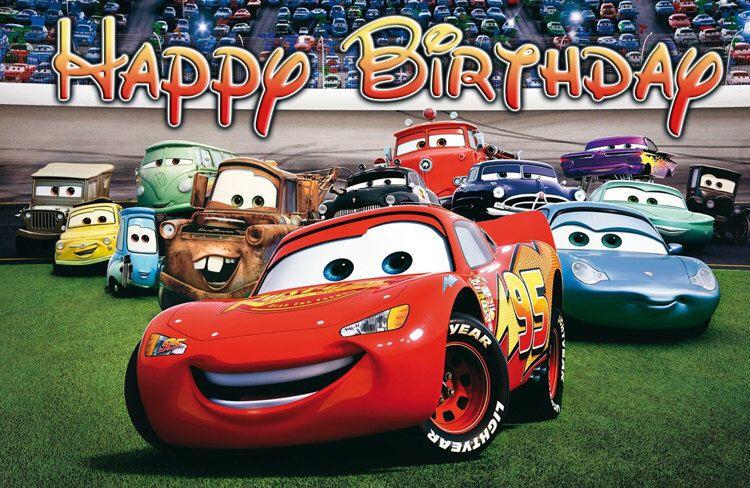 Disney Cars Birthday Banner  Disney cars party, Disney cars  Intended For Cars Birthday Banner Template Throughout Cars Birthday Banner Template