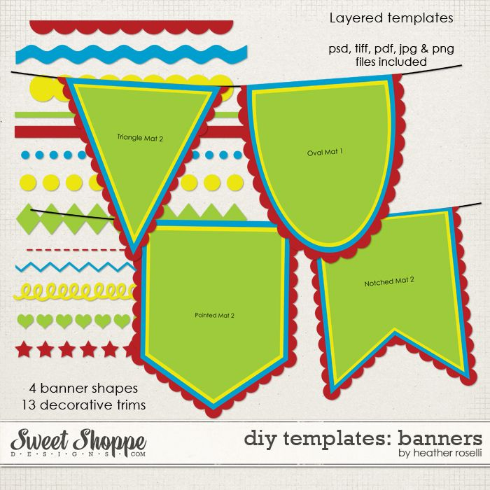 DIY Printable Templates: Banners are here!  Diy banner template  With Regard To Free Printable Pennant Banner Template For Free Printable Pennant Banner Template
