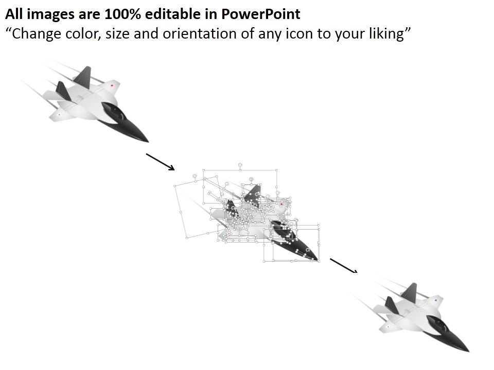 Dm Three Jet Fighter Planes For Air Force Powerpoint Template  For Air Force Powerpoint Template Intended For Air Force Powerpoint Template
