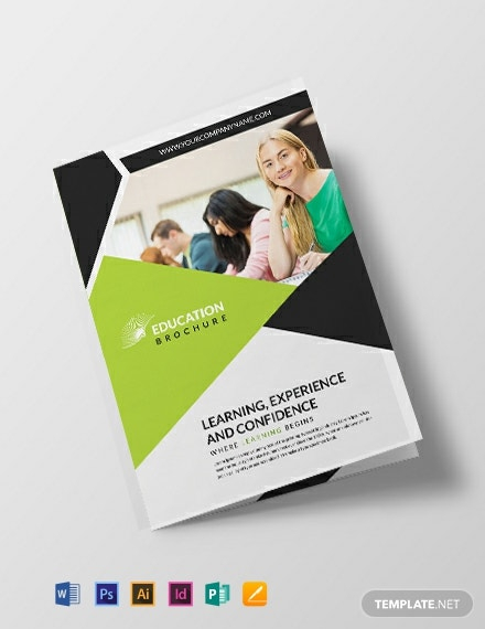 Download 11+ Educational Brochure Templates - Word (DOC)  PSD  With School Brochure Design Templates In School Brochure Design Templates