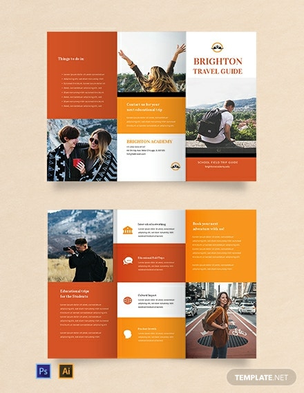 Download 11+ Travel Brochure Templates - Word (DOC)  PSD  For Island Brochure Template With Island Brochure Template