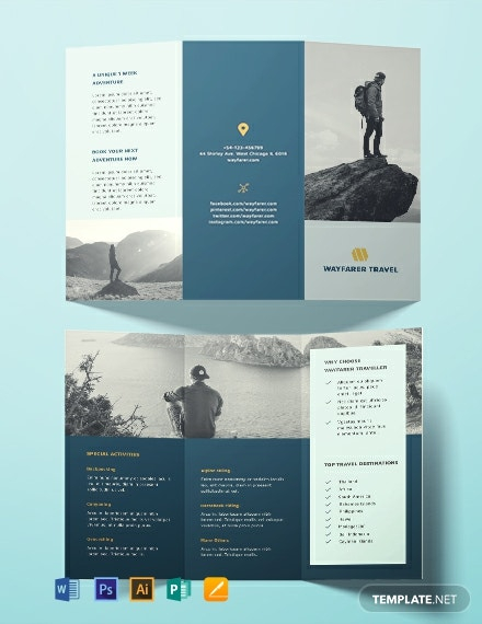 Download 11+ Travel Brochure Templates - Word (DOC)  PSD  Within Island Brochure Template With Regard To Island Brochure Template