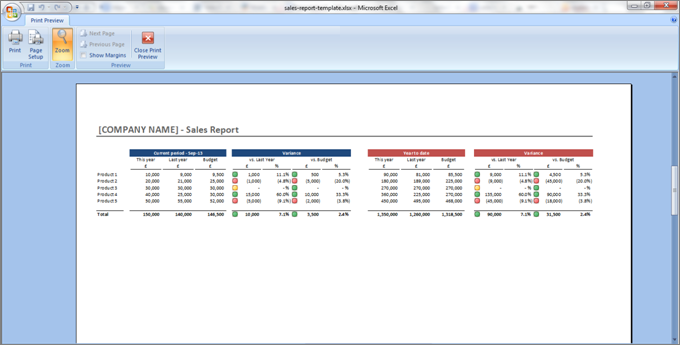 Download a free sales report template Regarding Html Report Template Download Regarding Html Report Template Download