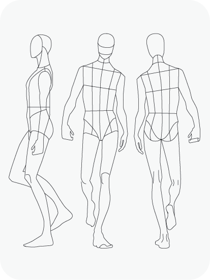 Download Fashion Figure Templates – Prêt-à-Template Within Blank Model Sketch Template With Blank Model Sketch Template