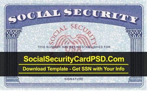 Editable Social Security Card Template Software Regarding Social Security Card Template Pdf Intended For Social Security Card Template Pdf