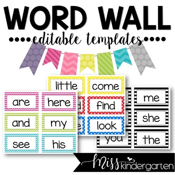 Editable Word Wall Templates For Blank Word Wall Template Free Intended For Blank Word Wall Template Free