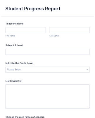 Evaluation Forms - Form Templates  JotForm In Blank Evaluation Form Template Inside Blank Evaluation Form Template