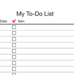 Every To-Do List Template You'll Ever Need - Business 11 Community For Blank To Do List Template