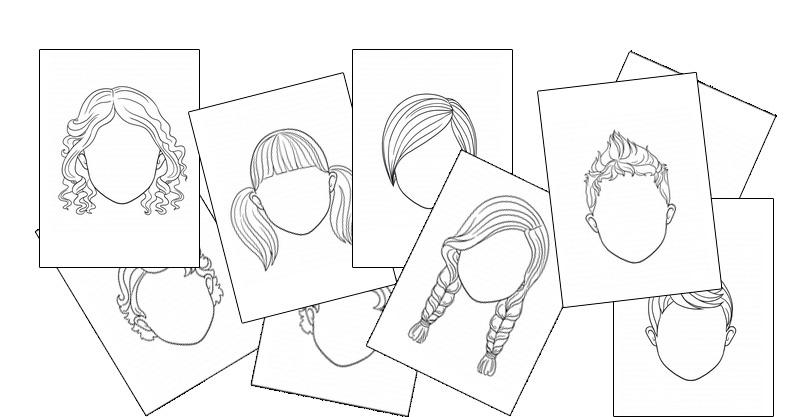 Face Templates Printables. TeachersMag Within Blank Face Template Preschool