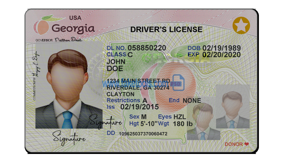 Fake Drivers License Template (Page 11) - Line.111QQ For Blank Drivers License Template