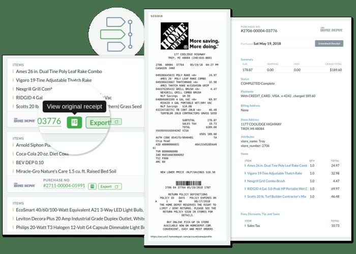 Fake Home Depot Receipt Template & Generator  nuTemplates Inside Home Depot Receipt Template Intended For Home Depot Receipt Template