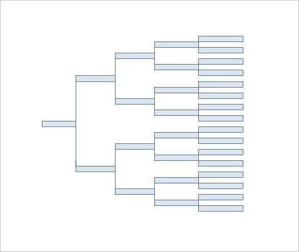 Family Tree Diagram Template - 11+ Free Word , Excel, PDF  Free  With Regard To Blank Tree Diagram Template For Blank Tree Diagram Template