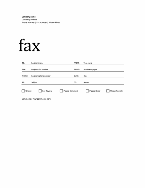 Fax cover sheet (Professional design) For Fax Template Word 2010 With Fax Template Word 2010