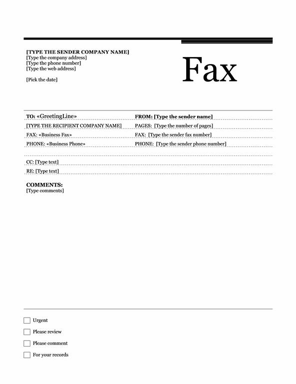 Fax Cover Sheet Templates  Fax Cover Sheet Examples With Fax Template Word 2010 With Fax Template Word 2010