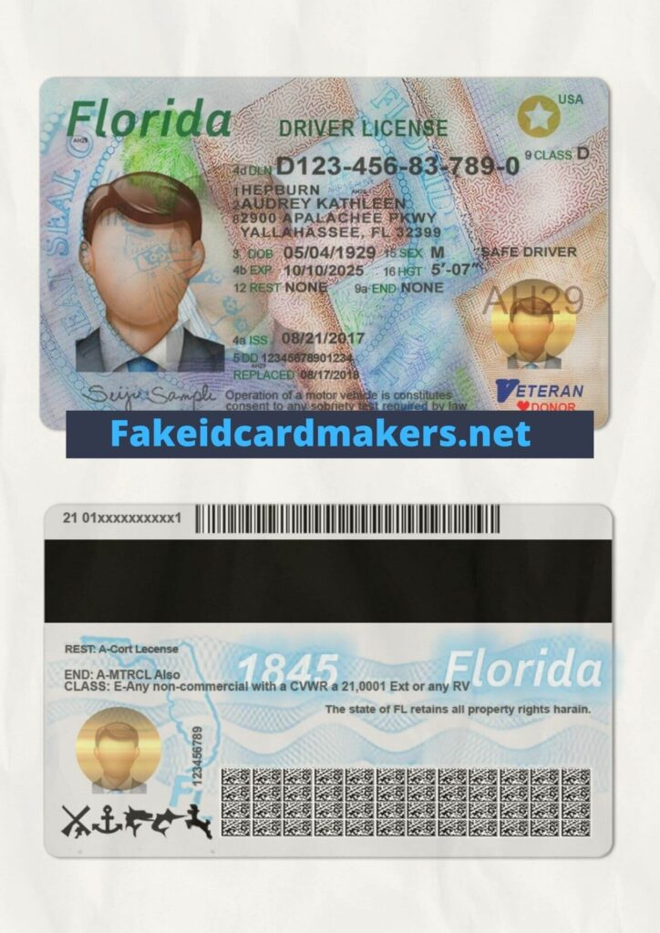 Florida Driver License Template - NEW Driving License Template Within Florida Id Card Template With Regard To Florida Id Card Template