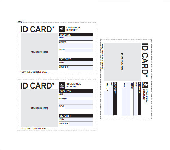 FREE 11+ Amazing ID Card Templates in AI  MS Word  Pages  PSD  With Regard To Personal Identification Card Template With Regard To Personal Identification Card Template