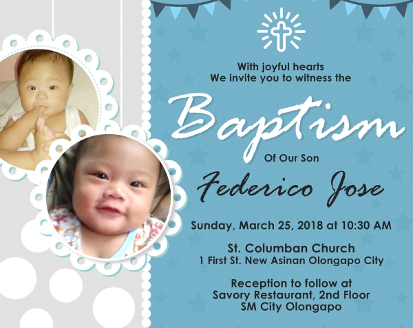 FREE 11+ Best Baptism Banner Examples & Templates [Download Now  For Christening Banner Template Free Pertaining To Christening Banner Template Free
