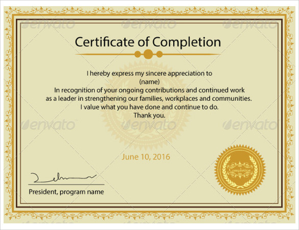 FREE 11+ Printable Certificate Templates in PDF  MS Word  PSD  Inside Blank Certificate Templates Free Download With Blank Certificate Templates Free Download
