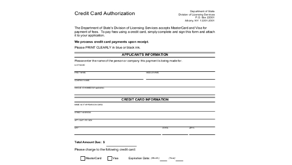 FREE 11+ Sample Credit Card Authorization Forms in MS Word  PDF  Within Authorization To Charge Credit Card Template Pertaining To Authorization To Charge Credit Card Template