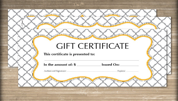 FREE 11+ Sample Gift Certificate Templates in PDF  PSD  MS Word  AI Throughout Microsoft Gift Certificate Template Free Word With Regard To Microsoft Gift Certificate Template Free Word