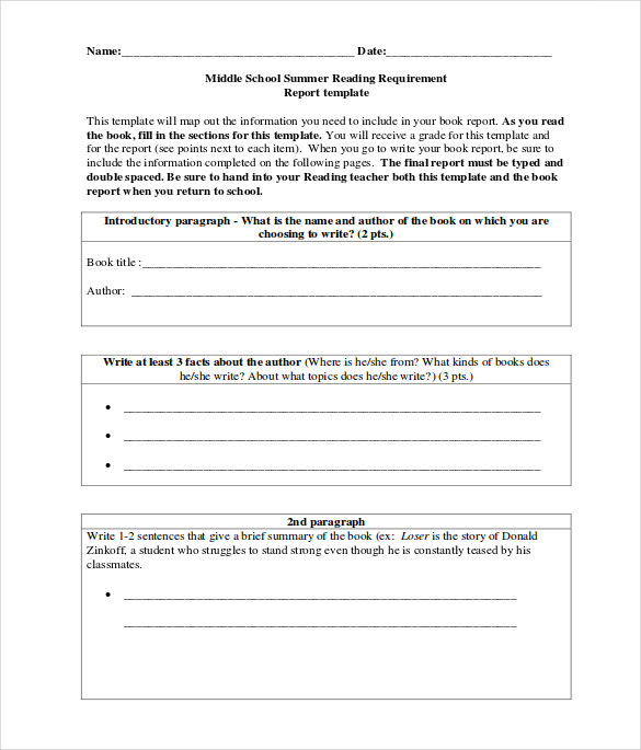 FREE 11+ Sample Middle School Book Reports in PDF  MS Word Inside High School Book Report Template With Regard To High School Book Report Template