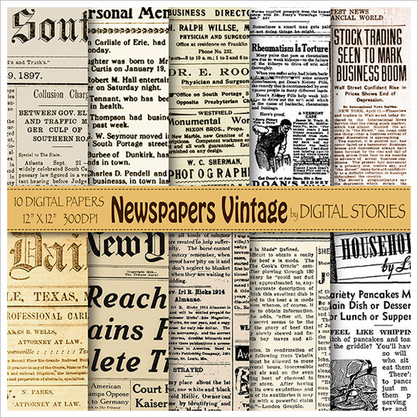 FREE 11+ Sample Old Newspaper Templates in PDF  PSD  MS Word Throughout Old Newspaper Template Word Free Within Old Newspaper Template Word Free