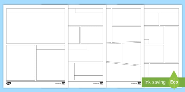 FREE Blank Comic Strip Template Regarding Printable Blank Comic Strip Template For Kids Intended For Printable Blank Comic Strip Template For Kids