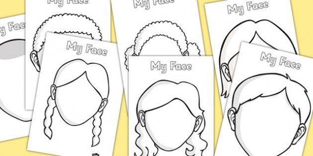 FREE Blank Faces Templates  Homeschool Giveaways  Face template  Intended For Blank Face Template Preschool Pertaining To Blank Face Template Preschool
